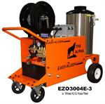 Industrial Electric Powered Oil Fired Hot Water Pressure Washers Alpha Series