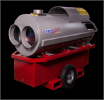 Frost Fighter IDF-XLT Series Indirect Oil Fired 60 Gal Tank Portable Heaters 110 - 120 volt