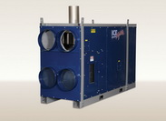 Indirect Fired HIGH STATIC Oil Diesel Heater IHS Series