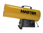 Master Natural Gas Forced Air Torpedo Heaters