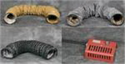 Frost Fighter Accessories, hoses, ducts, fuel tank, chimney, rain cap, outlets, duct hose, and Parts