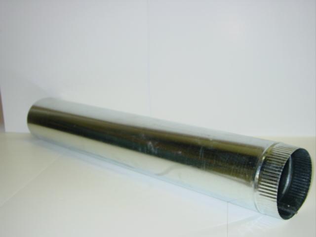 48807 Frost Fighter Galvanized Flue Chimney Pipe Extension 6  x 3u0027 (No Cap) & 48807 Frost Fighter Galvanized Flue Chimney Pipe Extension 6