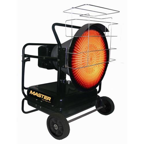 Mh 125 ofr a master silentdrive kerosene diesel radiant for Chauffage exterieur gaz castorama