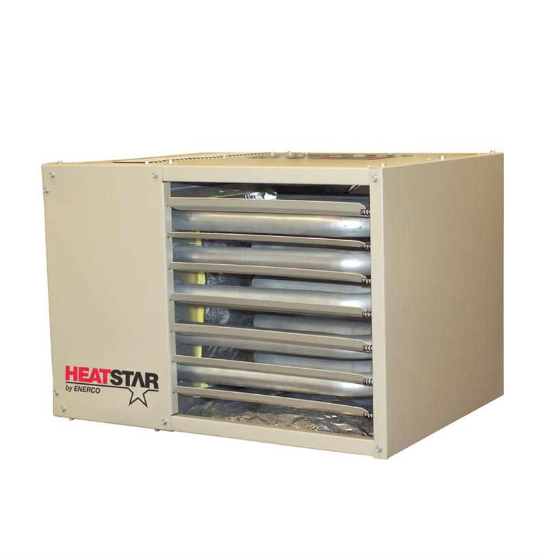 HSU125 NG HeatStar Natural Gas with LP kit Overhead Forced ...