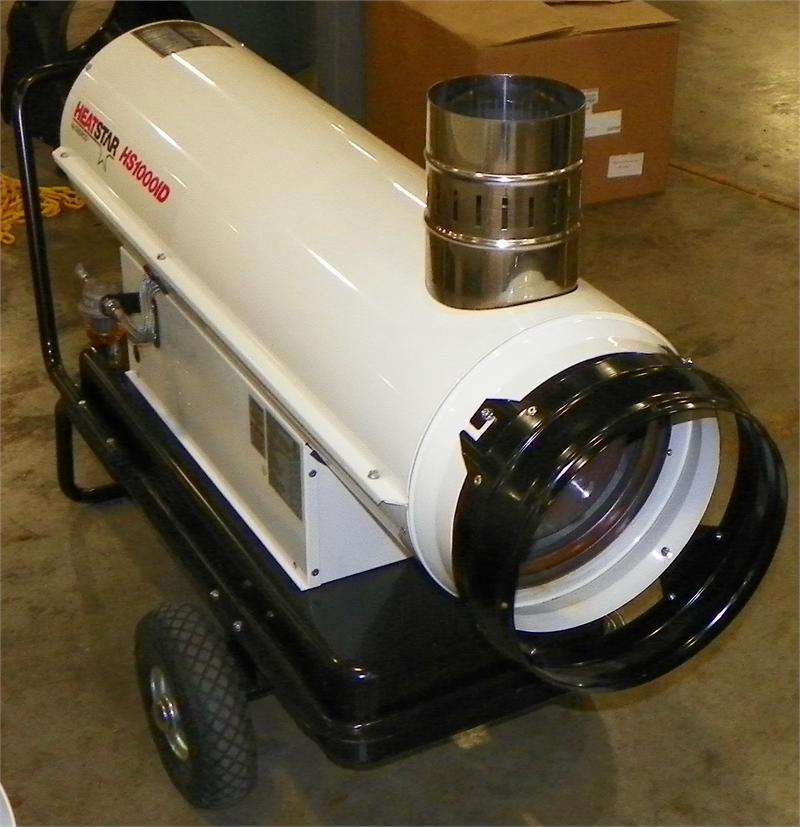 Hs1000id Heatstar Indirect Fired Oil Diesel Fired Heater