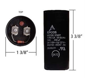 340-408 Frost Fighter Capacitor (WEG 49818 or 48101)