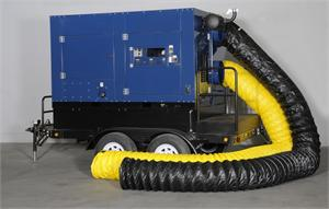 IHS700GT pictured with otional hoses