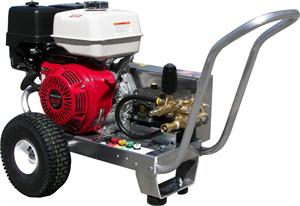 EB4040HG Pressure Pro 4GPM @ 4000PSI Cold Water powered by Honda GX390 V-Belt Drive General Pump Pressure Washer