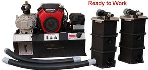 RGV40H12 Hydro Vacuum Water Recovery Completely Self Contained