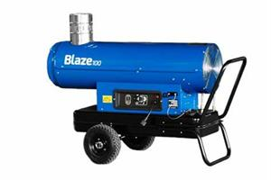 Blaze 100 Portable Indirect Oil-Fired Heater by Veloci