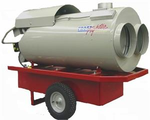 IDF350 11 Frost Fighter Indirect Fuel Oil, Diesel, Kerosene, JP5, JP8 Fired Heater 350,000 Btu 120V 15 amp IDF 350 II OHV 350