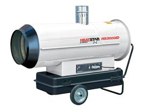 HS3000ID HeatStar Portable Indirect Oil Diesel Fired Heater Military Tent 306,000 Btu Heater F151030