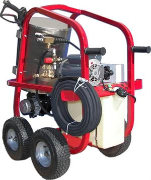 HV13002E1H Hydro Tek HOT-2-GO 110V Electric Hot Water Pressure Washer 1300 PSI 1.75 GPM