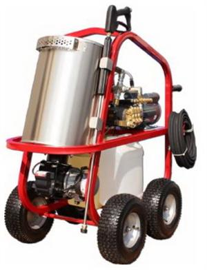 HV22004E2H Hydro Tek HOT-2-GO 220V Electric Hot Water Pressure Washer 2200 PSI 3.4 GPM