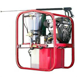 SK30005VH Hydro Tek Hot2Go Professional Series 3000 PSI (Gas powered-Diesel Hot Water) Skid Mounted Pressure Washer