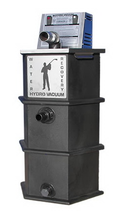 Hydro Tek HOT-2-GO Electric Vacuum Water Recovery Capture and Transfer System