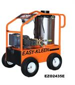 EZO2435E-GP Easy-Kleen Commercial Electric Powered - Oil Fired Hot Water Pressure Washer 2400 PSI 3.5 GPM