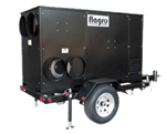 FVNP-750TR Flagro Natural Gas Propane Fired Indirect Fired Heater in Self-contained Trailers