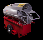 IDF500 XLT HRS Frost Fighter Indirect Oil Fired Heater with XLT 60 Gal Tank, HRS Heat Recovery System 500,000 Btu 120V 15amp