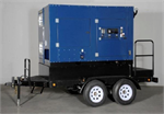 IHS 700GT Ice Fighter Indirect Oil/Diesel Fired High Static Model Heater Self-Contained Generator/Trailer