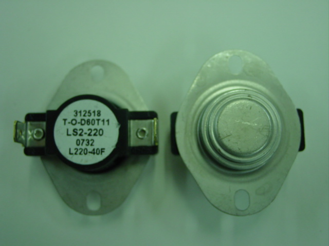 48110a Frost Fighter Ls2 220 40f High Limit Switch