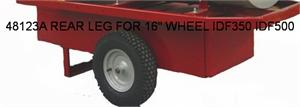 "48123A Frost Fighter REAR LEG FOR 16"" WHEEL IDF 350 IDF 500"