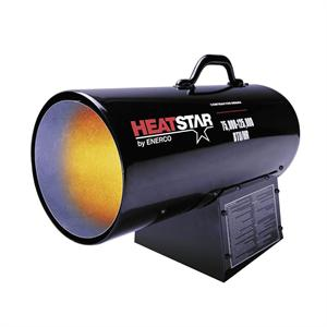 HS125 FAV Forced Air Propane Heater HeatStar Contractor Heater F170125