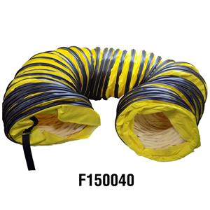 "F150040 12"" X 25' (304.8mm x 7.62m) HeatStar Flexible Duct Hose"